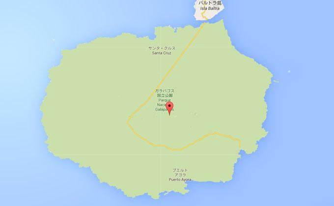 サンタクルス島