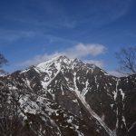 残雪期の谷川岳、無念の撤退事件