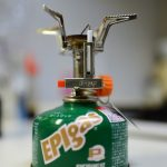 【EPIgasのQUOストーブ】軽量化への第一歩、EPIのバーナー買ってみました