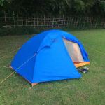 ダンロップのテントのひも問題を改善する