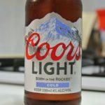 【世界のビール】アメリカからクアーズライトを飲みました