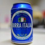 【世界のビール】イタリアの缶ビールBIRRA ITALIAを飲みました