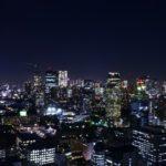 東京の夜景を撮影して来ました