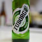 デンマークのツボルグなるビールを飲んでみました