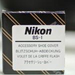 ニコンD750のアクセサリーシューカバー買いました