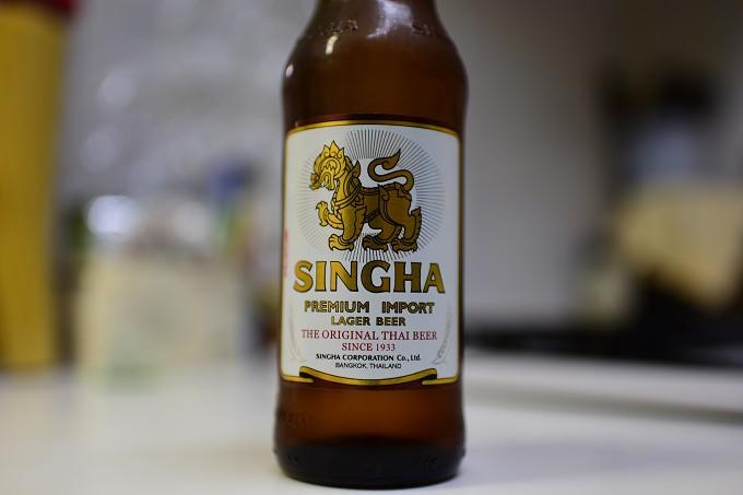 【世界のビール】タイ王国のシンハービールを飲んでみた